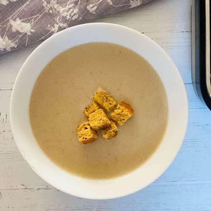 chicken soup in a Ninja soup maker