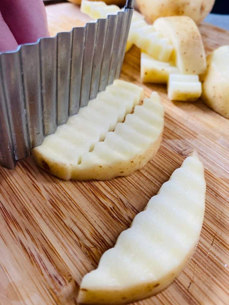 crinkle chip cutter