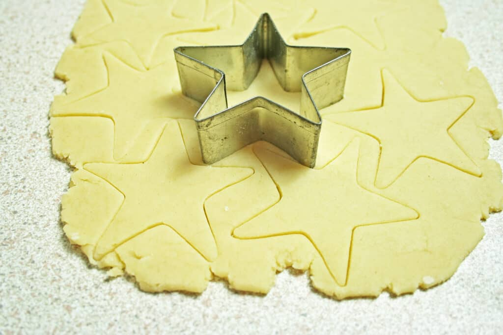 star lids for mince pies