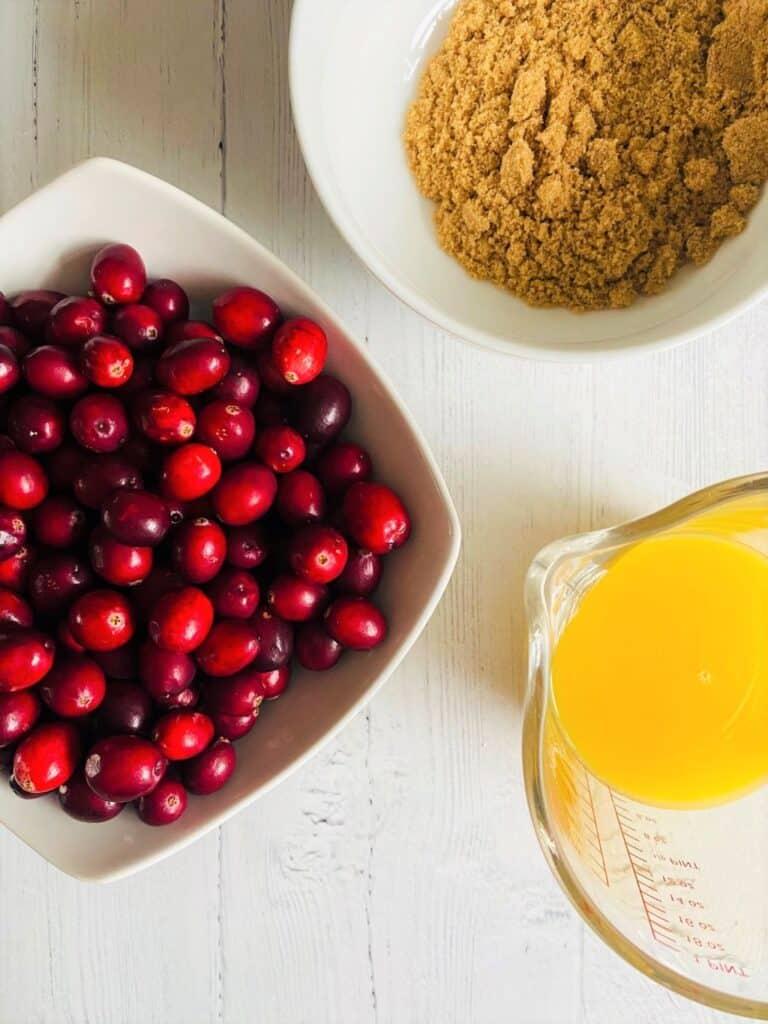 cranberry sauce ingredients