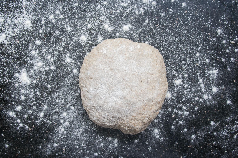 floured dough