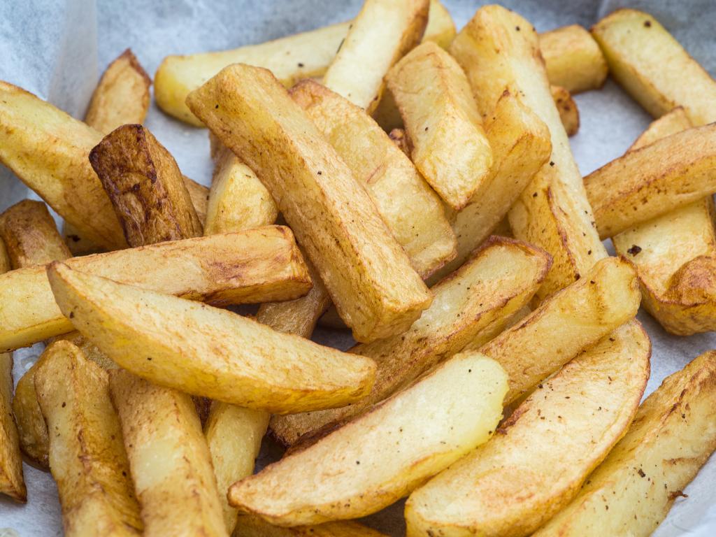 homemade oven chips