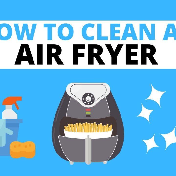 how to clean an air fryer