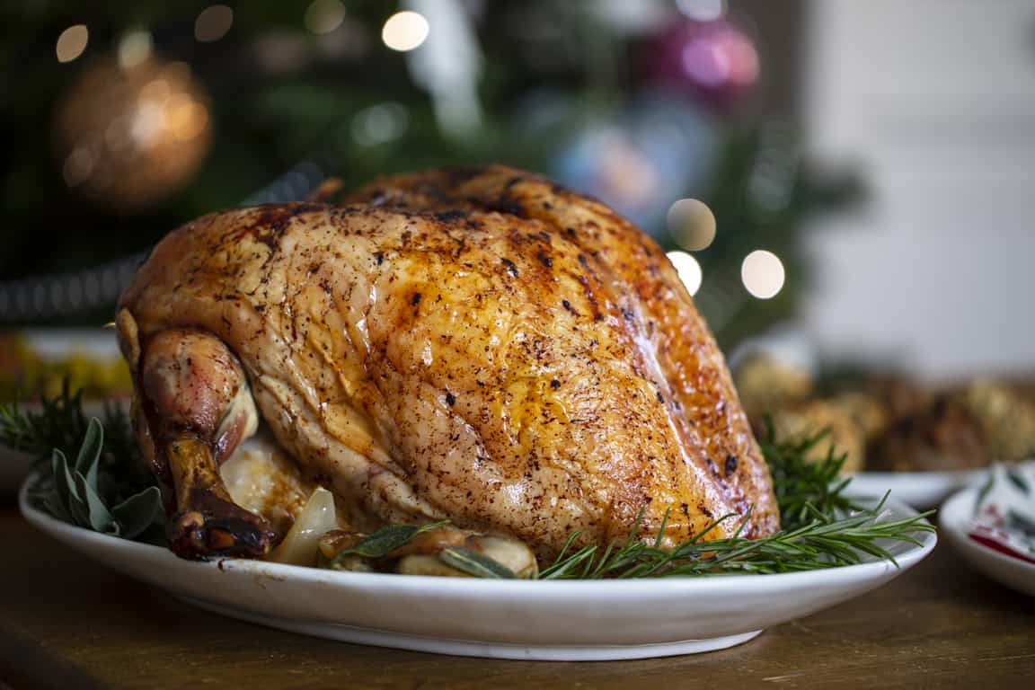 how to cook a turkey crown