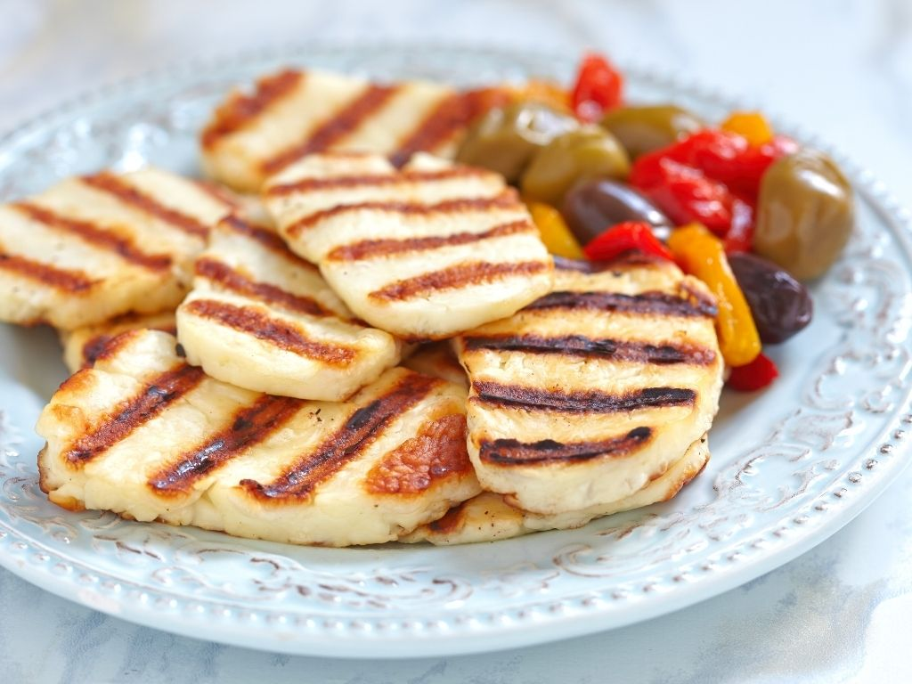 how to cook halloumi