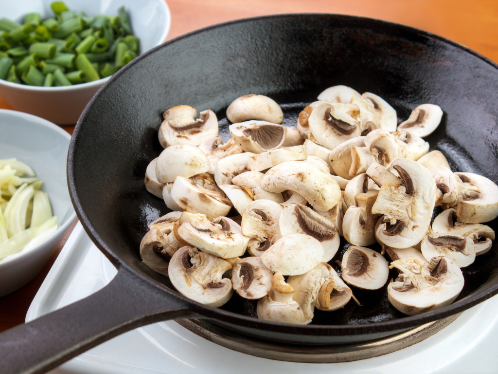 how to cook mushrooms