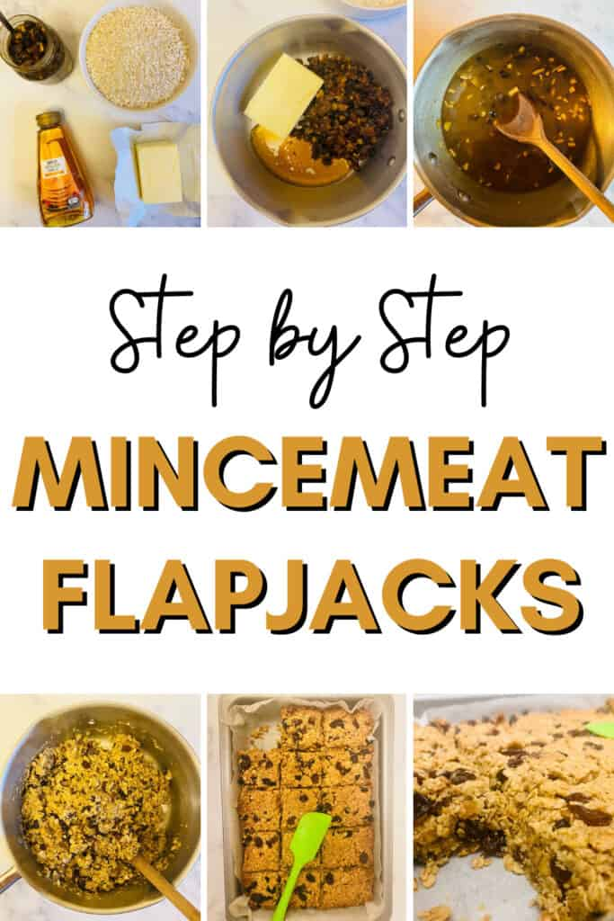 how to make mincemeat flapjacks