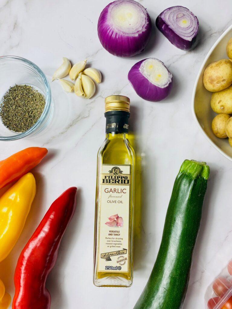 olive oil for med veg