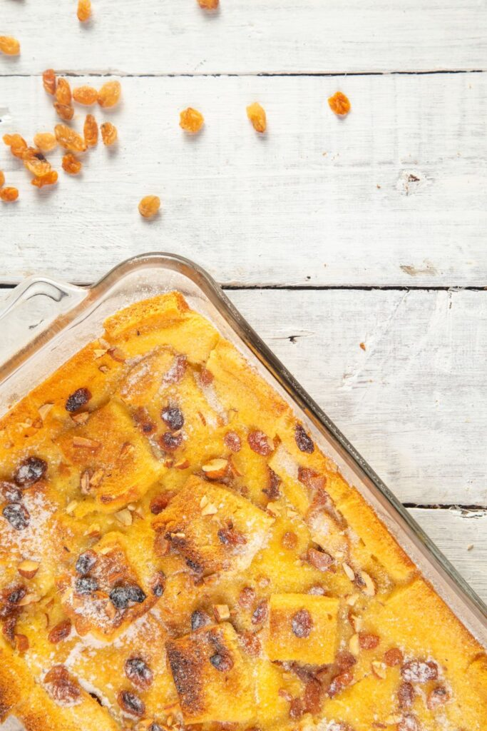 recipe for bread and butter pudding
