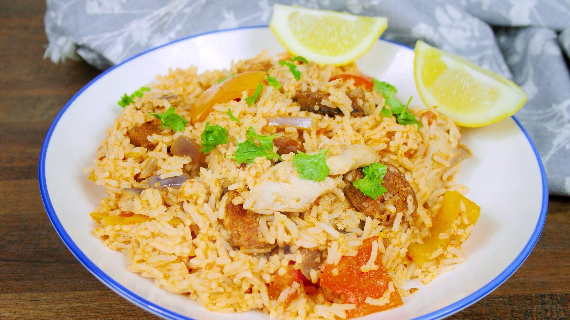slow cooker chicken chorizo recipe