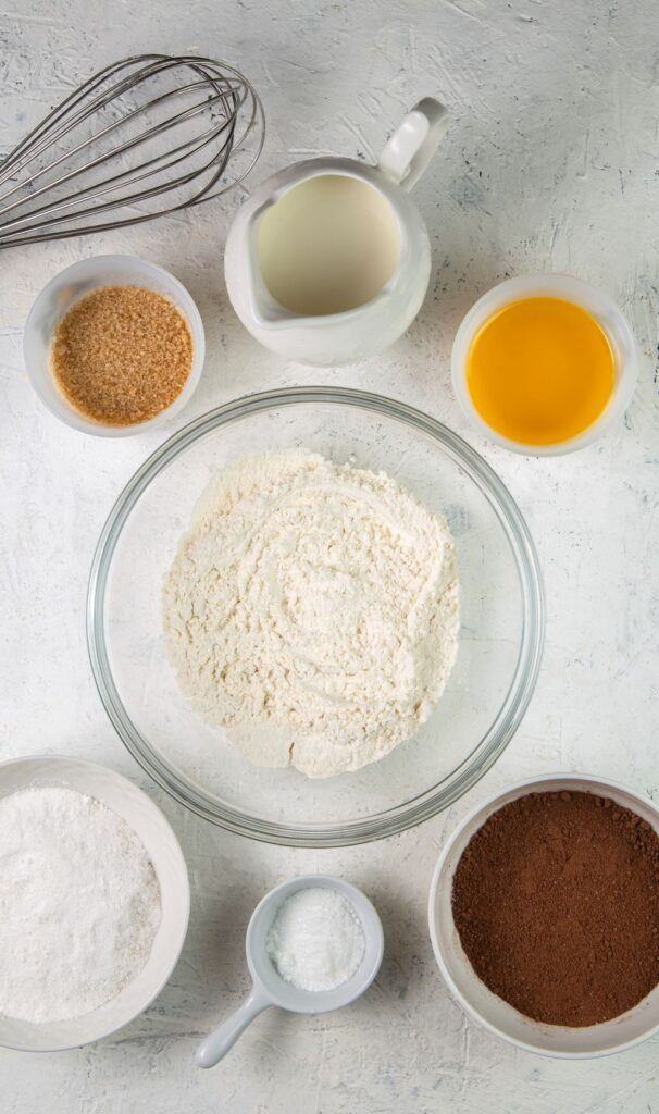 ingredients for slow cooker chocolate lava cake