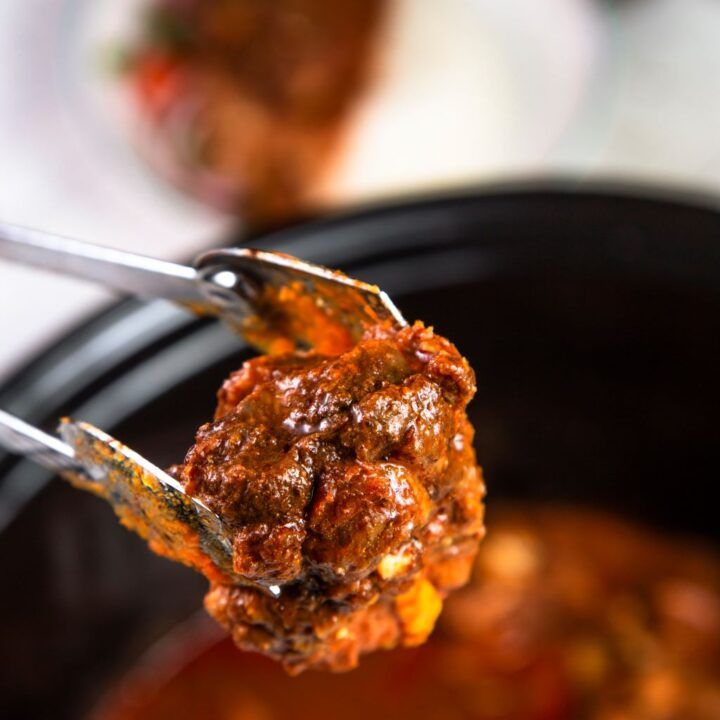 slow cooker lamb curry recipe