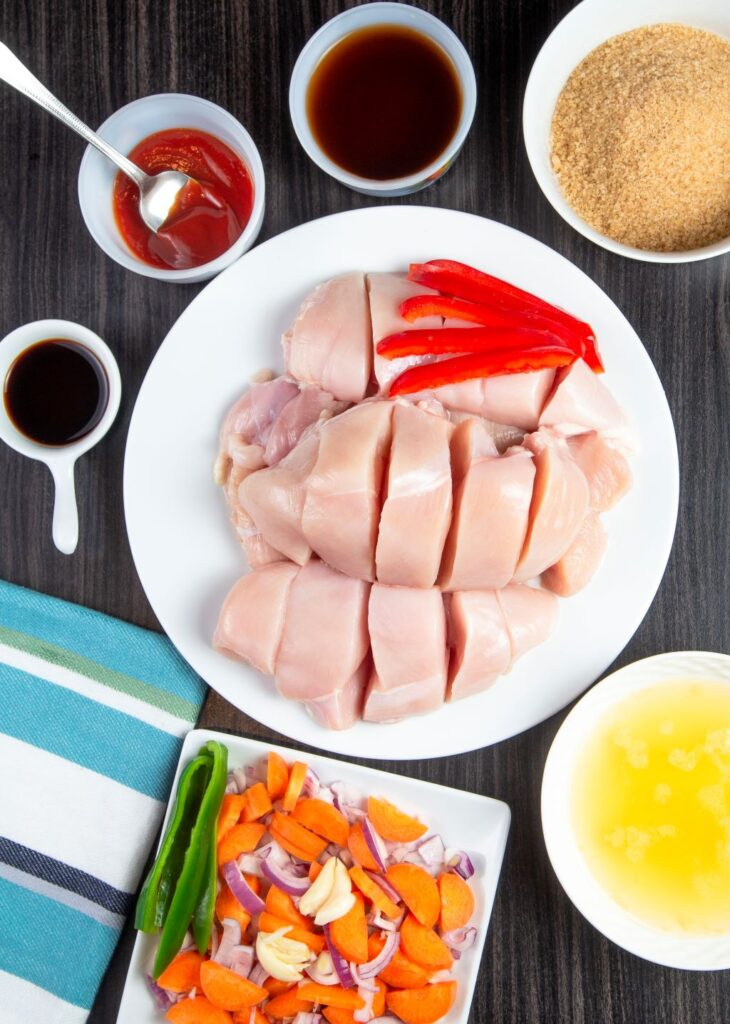 slow cooker sweet and sour chicken ingredients