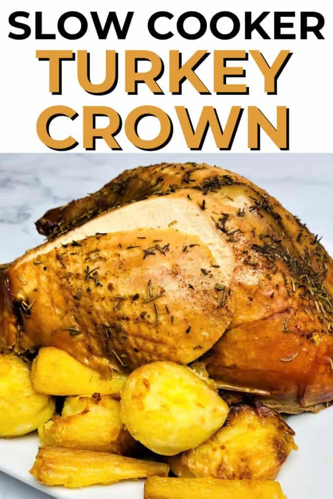 slow cooker turkey crown